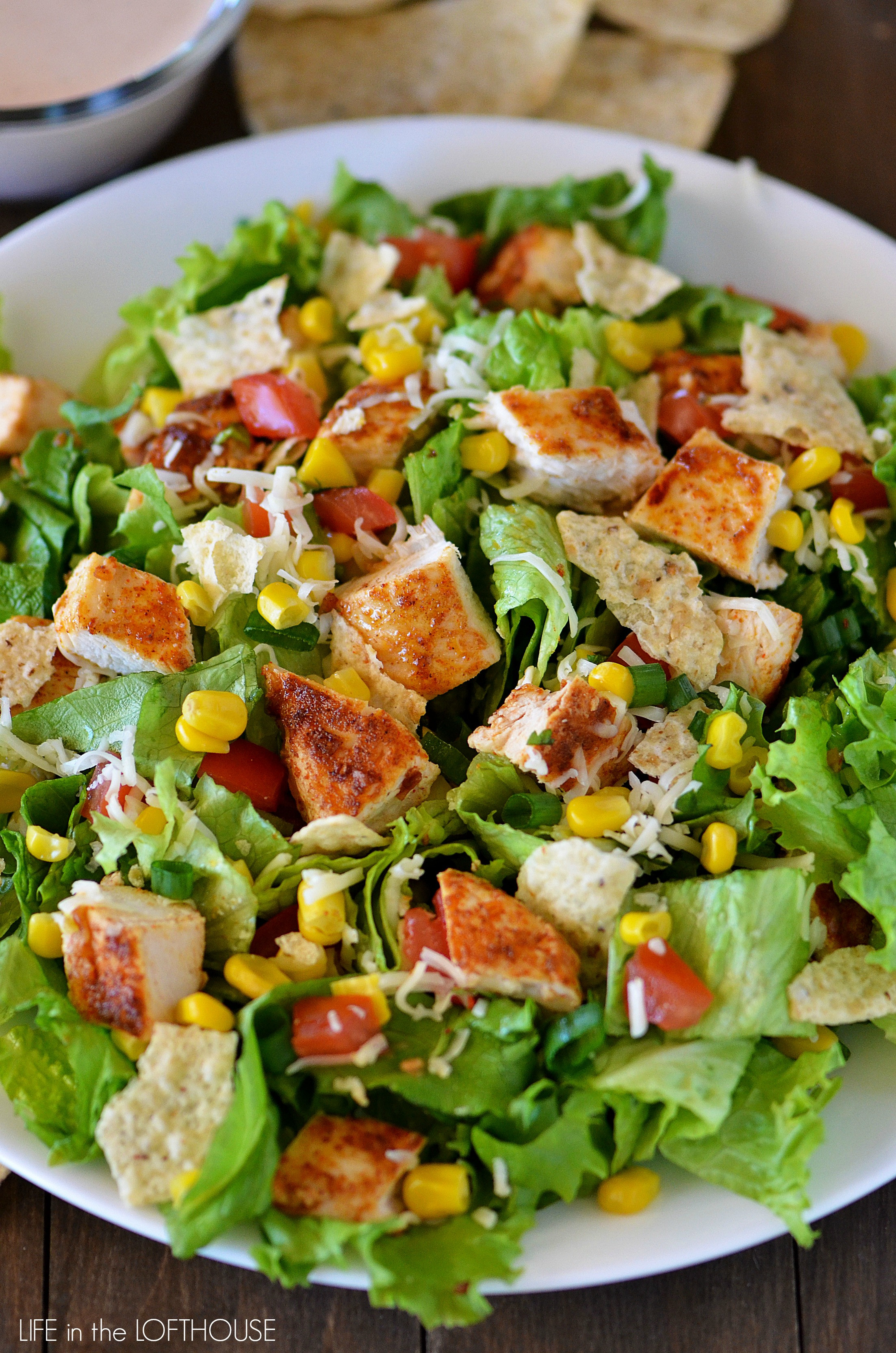 Is Chicken Salad Healthy  Chicken Taco Salad Life In The Lofthouse