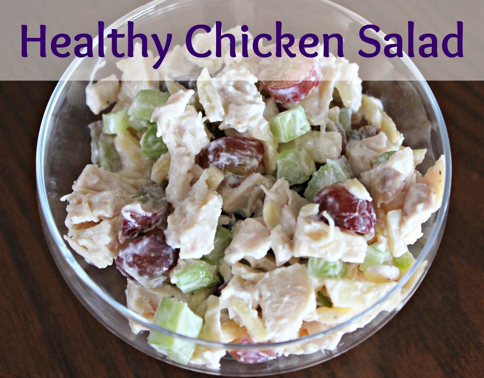 Is Chicken Salad Healthy  Healthy Chicken Salad Recipe — Dishmaps