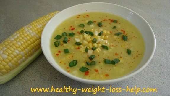 Is Corn Good For Weight Loss  Diet Corn Soup Recipe Made in Minutes
