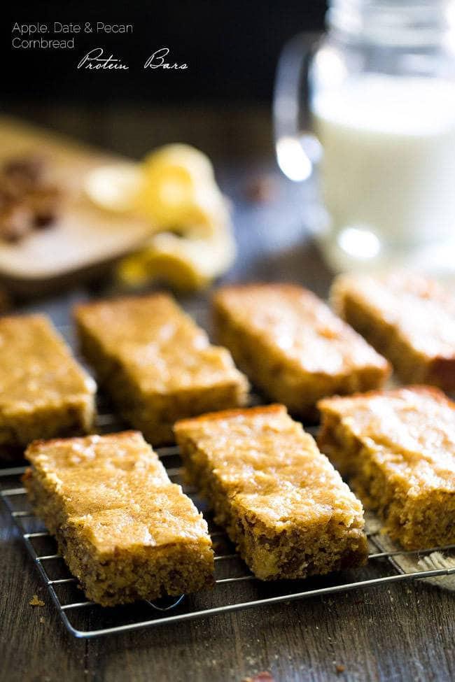 Is Cornbread Healthy  Healthy Cornbread Protein Bars