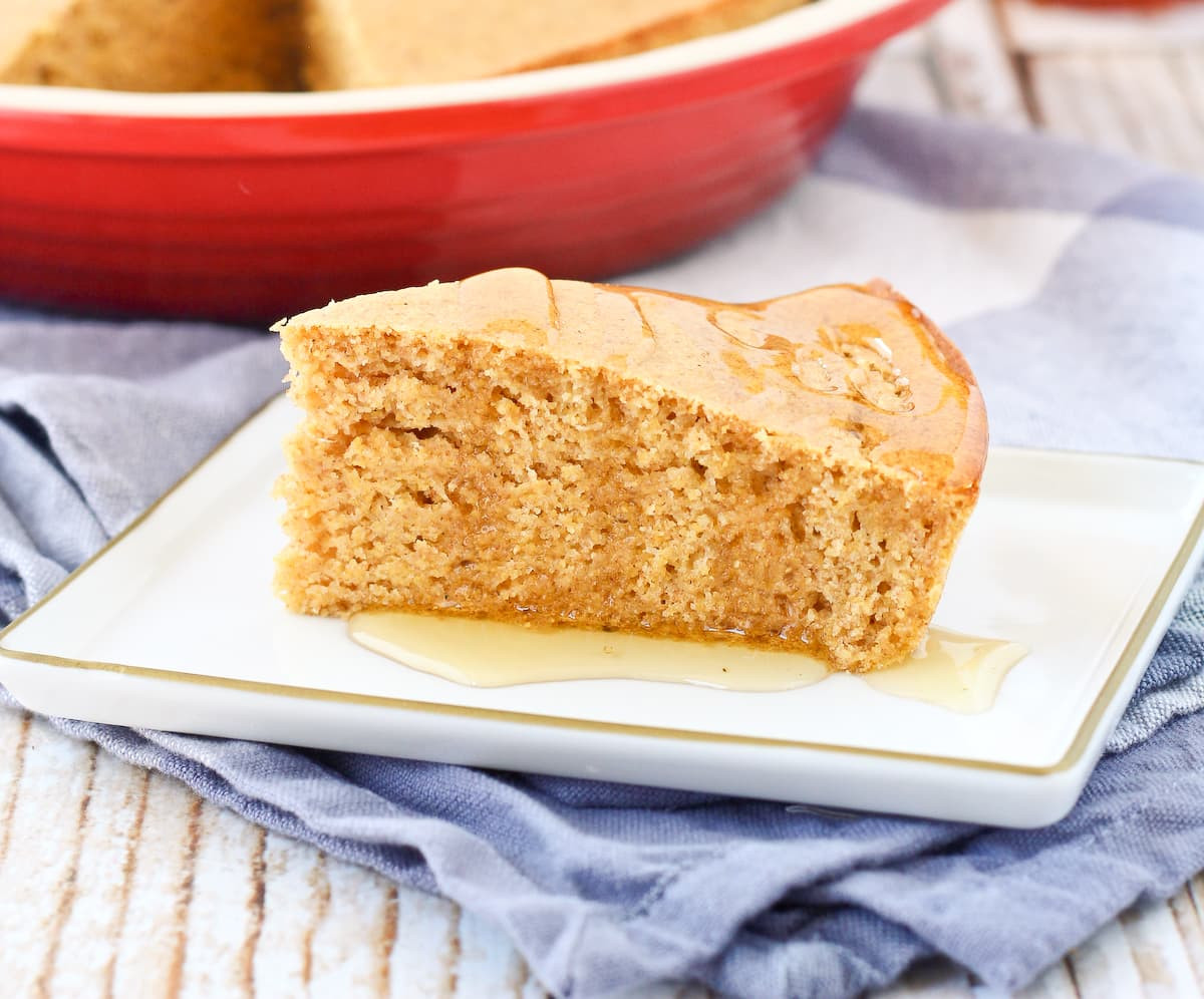 Is Cornbread Healthy  Healthy Cornbread Recipe whole wheat with VIDEO