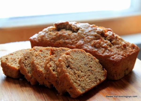 Is Potato Bread Healthy  Healthy Sweet Potato & Parsnip Quick Bread My Traveling Joys