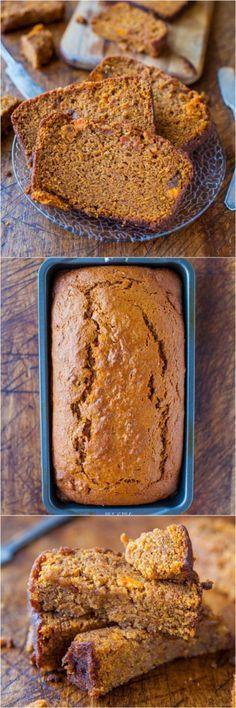 Is Potato Bread Healthy  Cinnamon and Spice Sweet Potato Bread