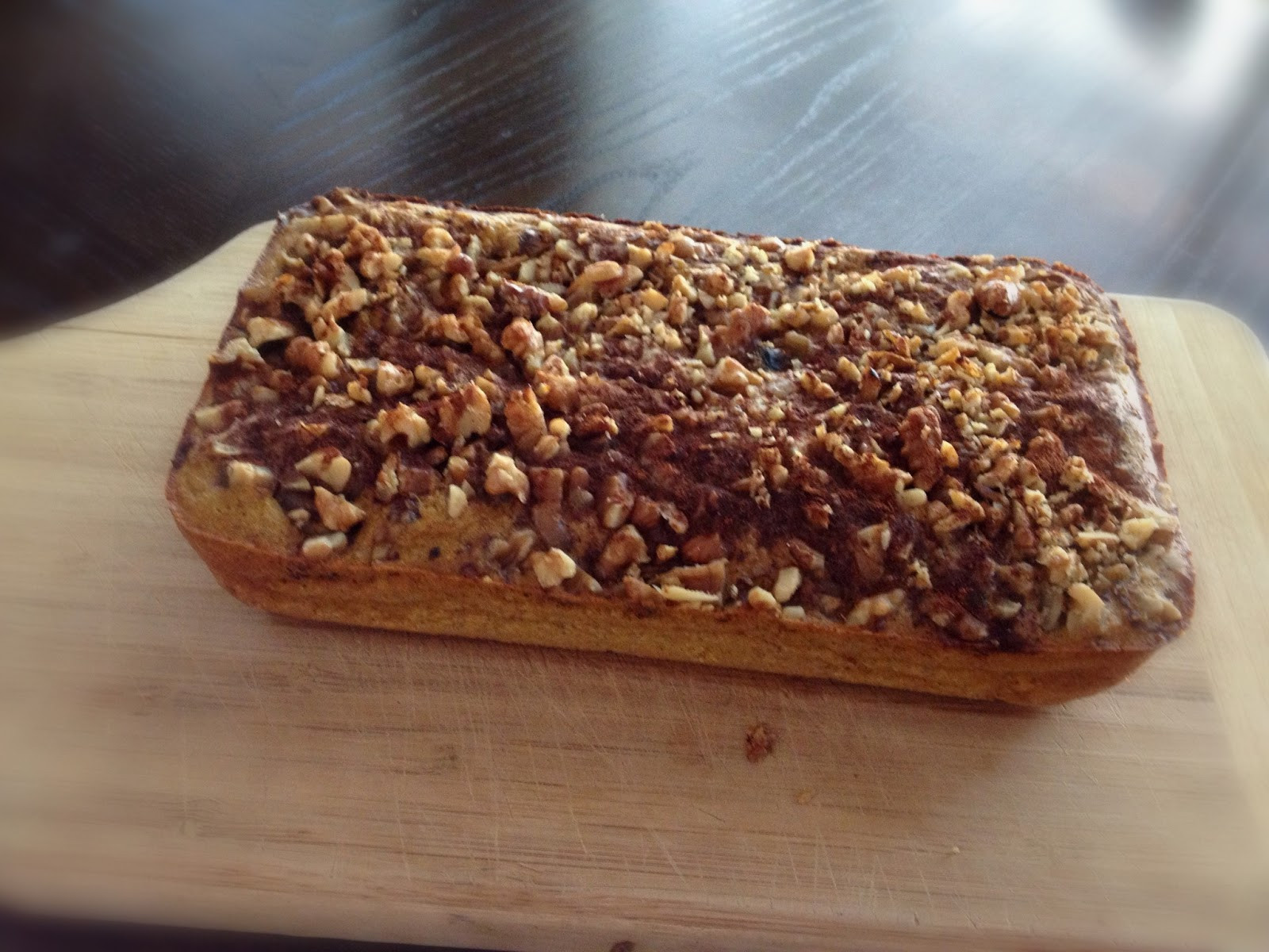 Is Potato Bread Healthy  Healthy With Lovelady Sweet Potato Bread With Walnut Crumble