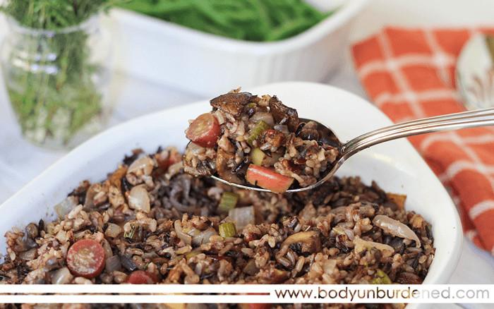 Is Wild Rice Gluten Free  Gluten Free Wild and Brown Rice Stuffing Body Unburdened