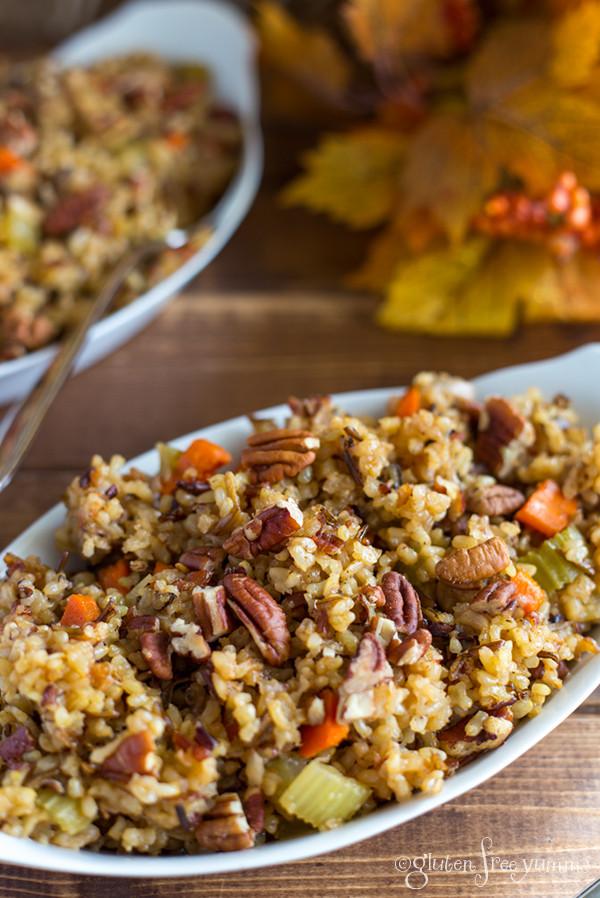 Is Wild Rice Gluten Free  Gluten Free Crockpot Wild Rice – Gluten Free Yumms