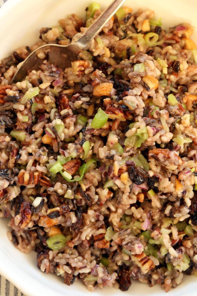 Is Wild Rice Gluten Free  Wild Rice Salad The Harvest Kitchen