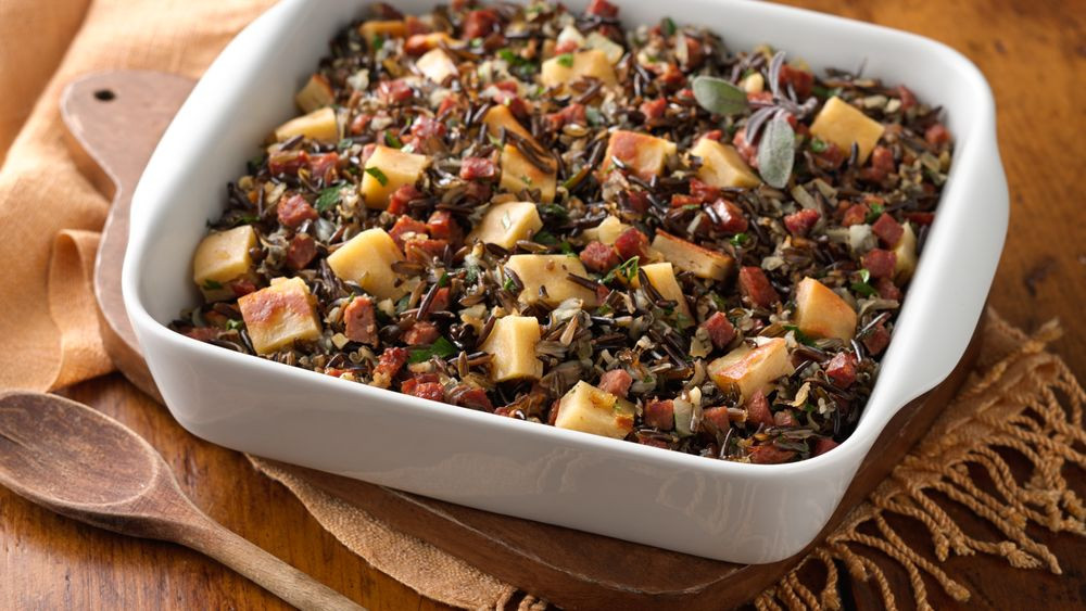 Is Wild Rice Gluten Free  Gluten Free Wild Rice Chorizo and Bread Stuffing recipe