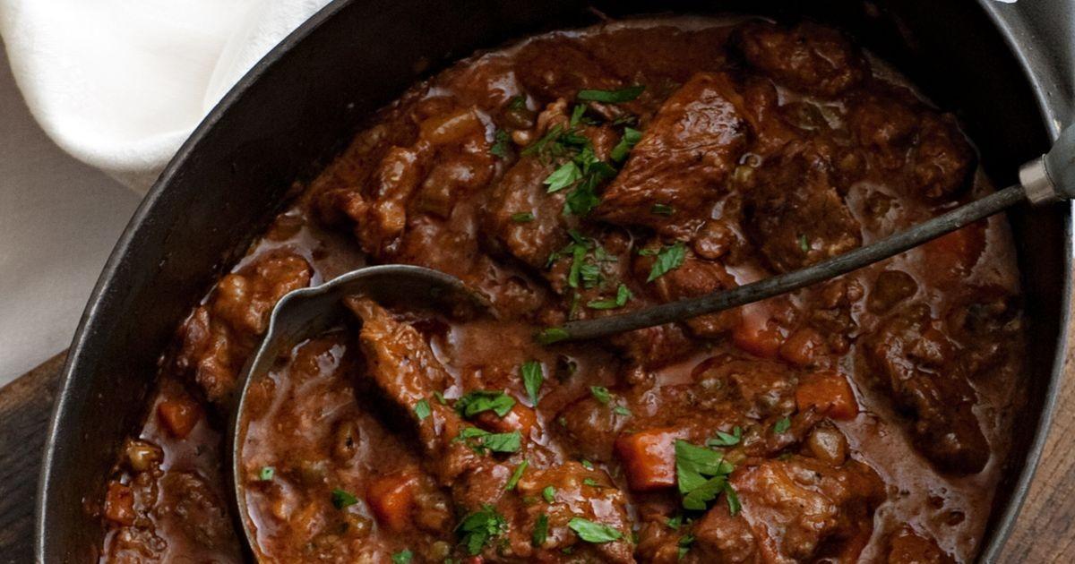 Italian Beef Stew  Spezzatino di manzo Italian beef stew