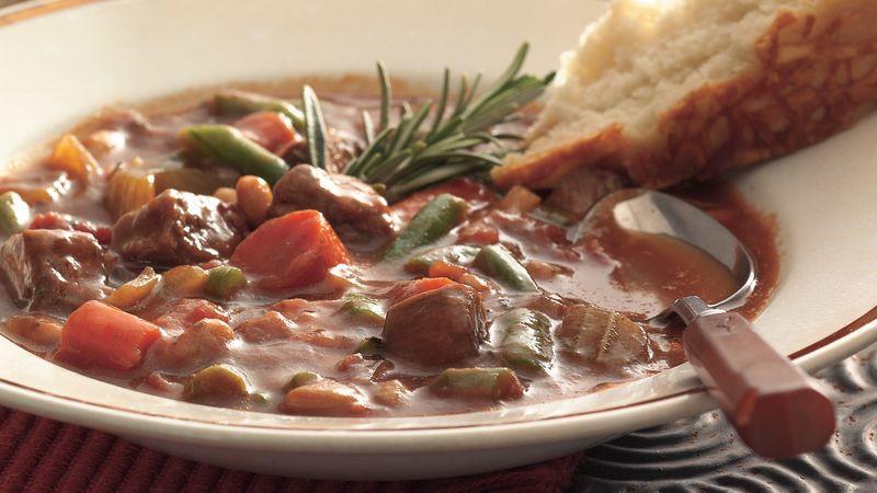 Italian Beef Stew  Slow Cooker Italian Beef Stew Recipe BettyCrocker