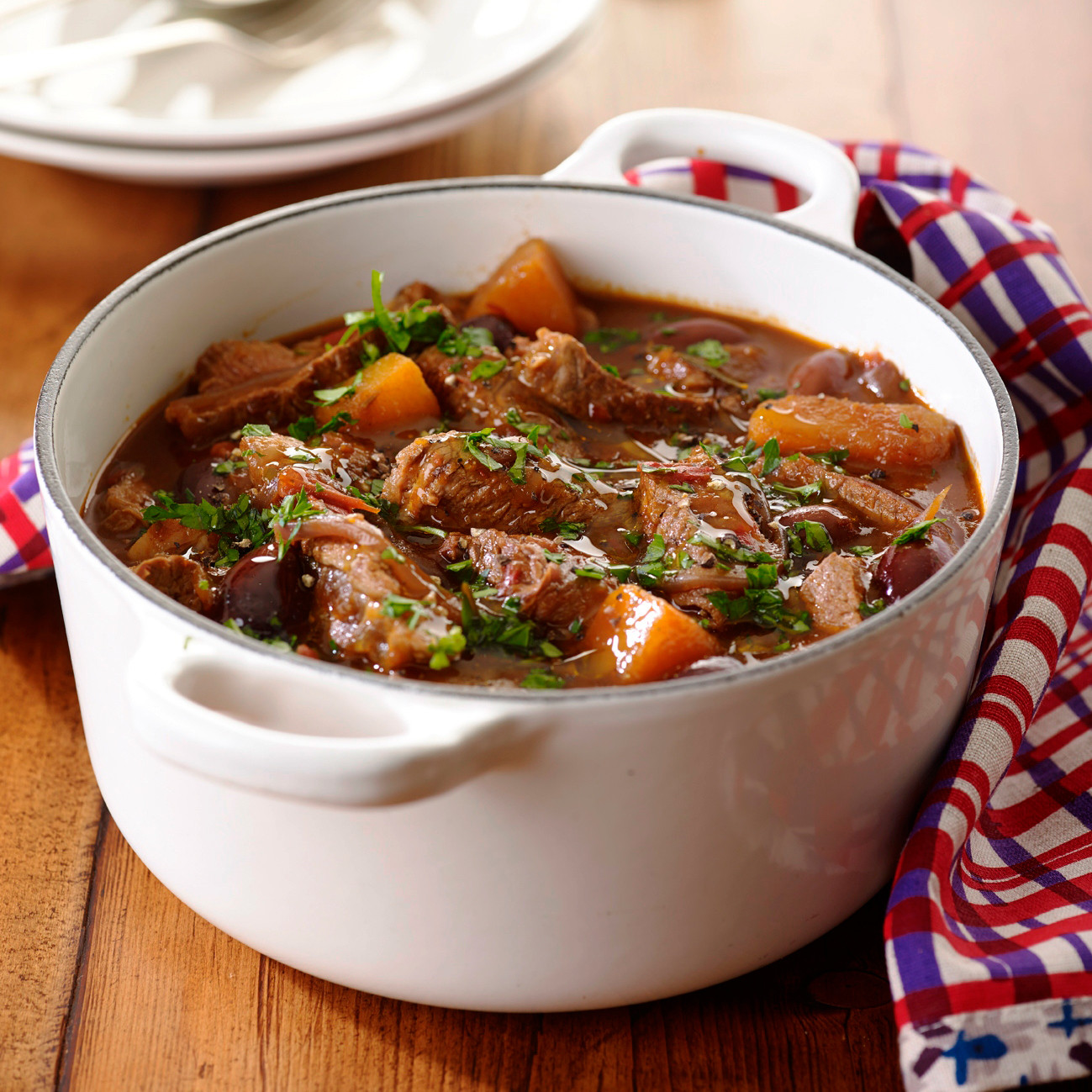 Italian Beef Stew  Quick italian beef stew with pesto