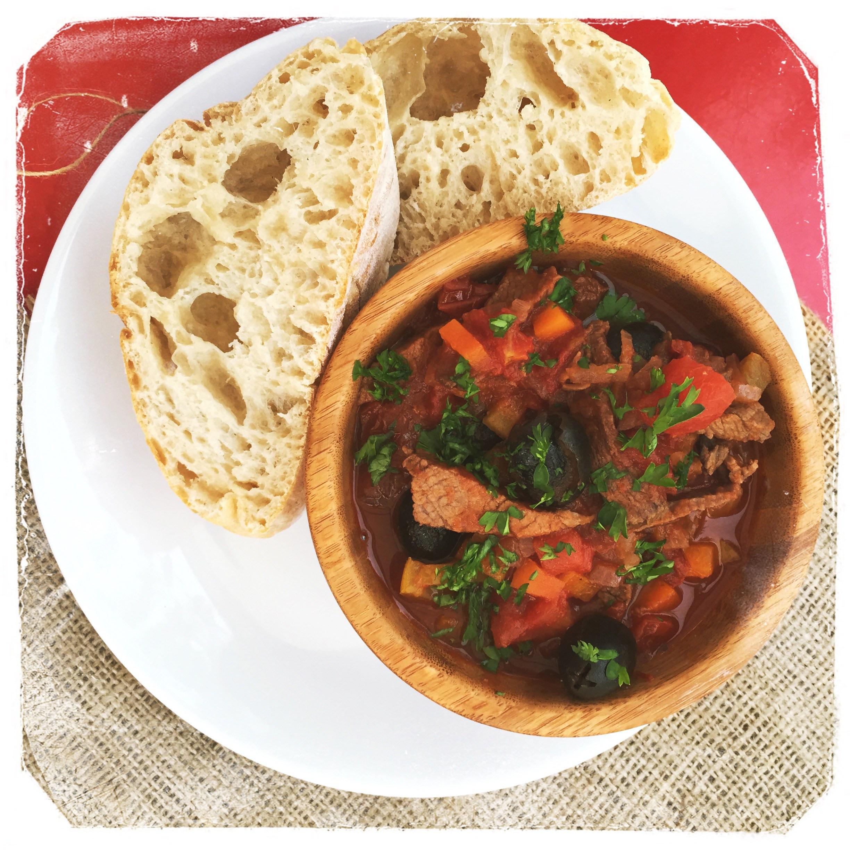 Italian Beef Stew  Italian style beef stew
