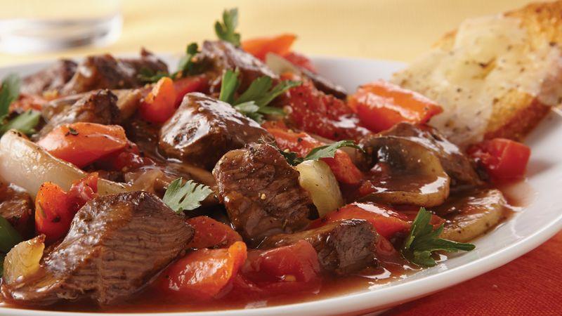 Italian Beef Stew  Slow Cooker Italian Style Beef Stew recipe from Betty Crocker