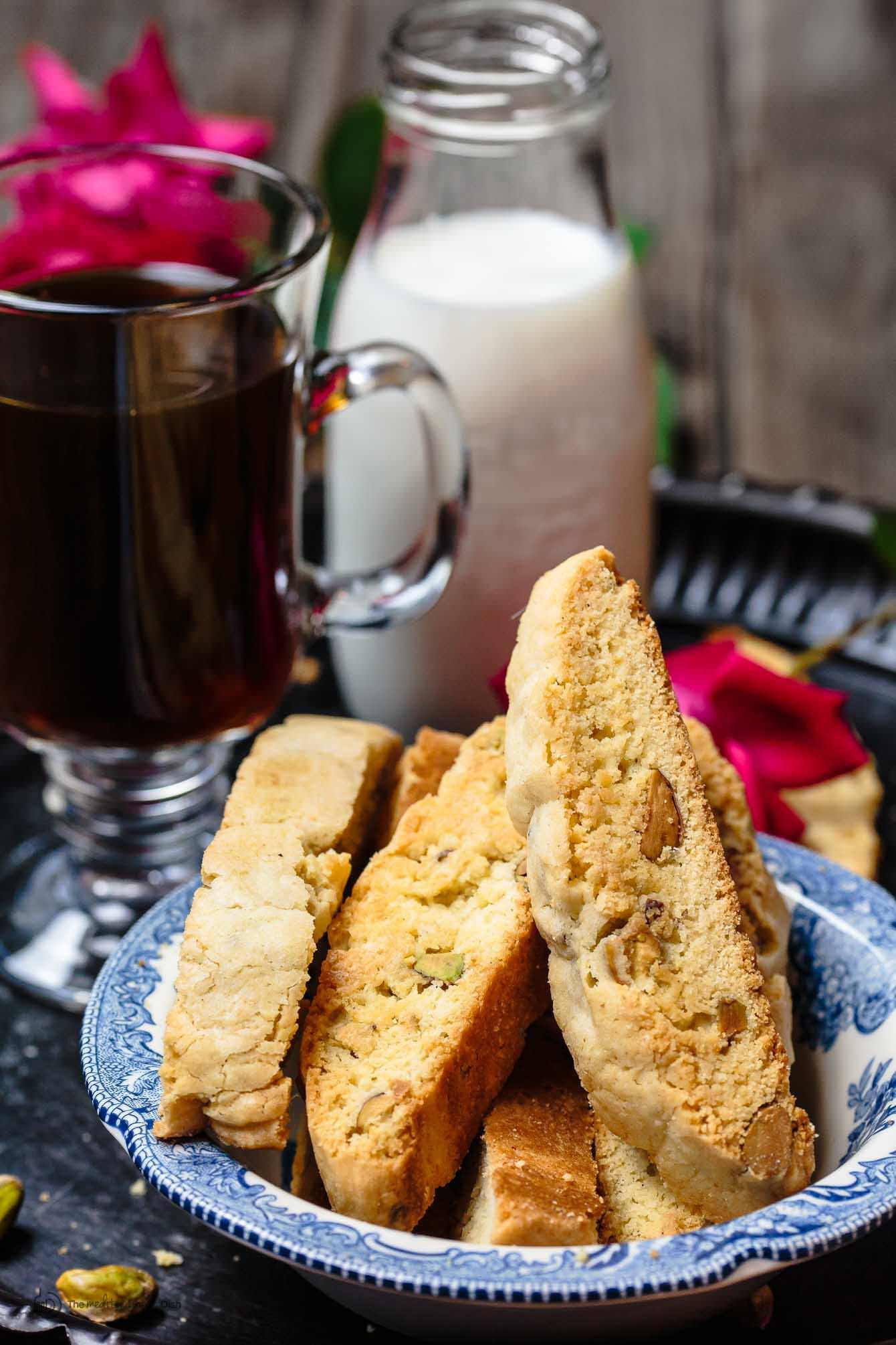Italian Biscotti Recipe  Easy Biscotti Recipe with Pistachios and Cardamom