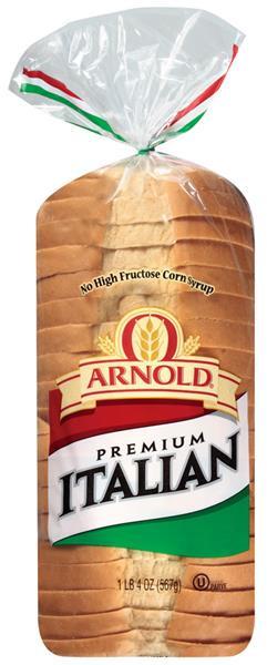 Italian Bread Calories  Oroweat Bread Premium Italian