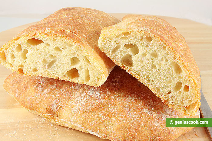 Italian Bread Calories  Italian Bread Ciabatta Recipe Baked Goods
