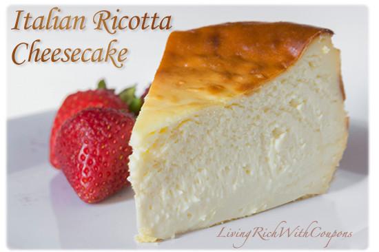 Italian Cheesecake Recipe  Italian Ricotta Cheesecake Recipe Easy to make and