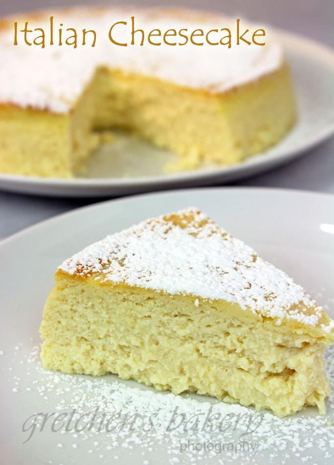 Italian Cheesecake Recipe  italian ricotta cheesecake recipes