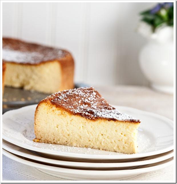 Italian Cheesecake Recipe  ricotta cheesecake1 The Real Italian Food