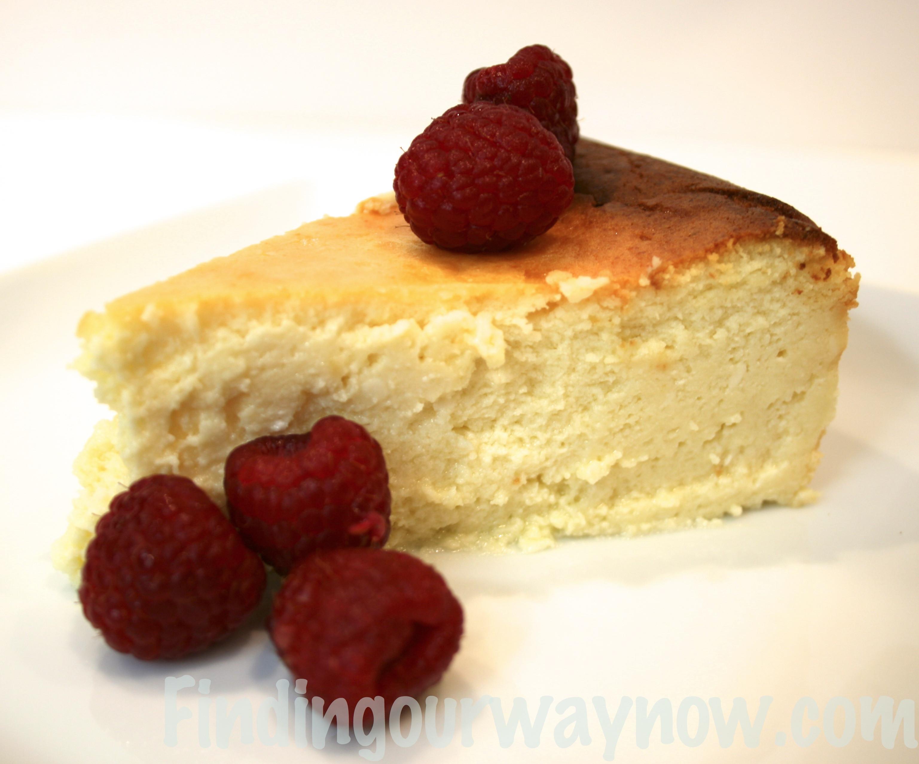 Italian Cheesecake Recipe  Homemade Italian Cheesecake Recipe Finding Our Way Now