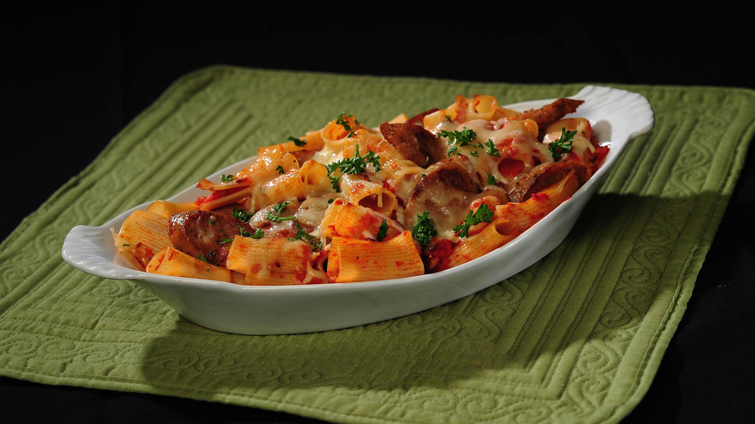 Italian Chicken Sausage Recipes  Italian Chicken Sausage and Pasta Casserole