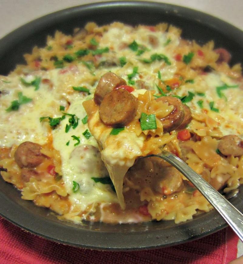 Italian Chicken Sausage Recipes  Renee s Kitchen Adventures Lightened Up Italian Chicken