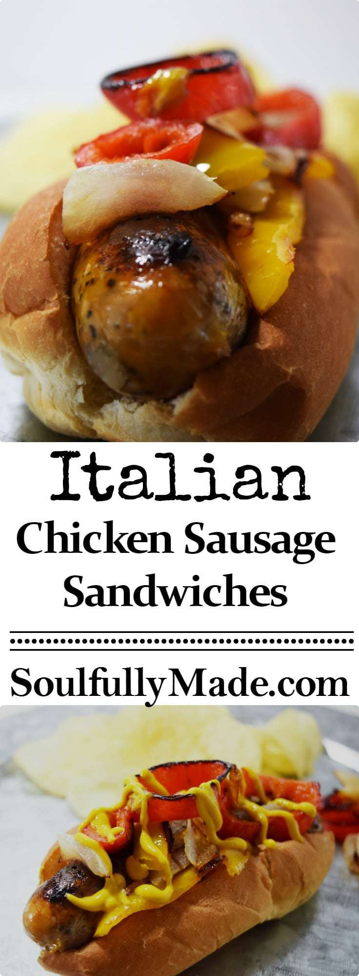 Italian Chicken Sausage  Easy Italian Chicken Sausage Sandwiches with Peppers