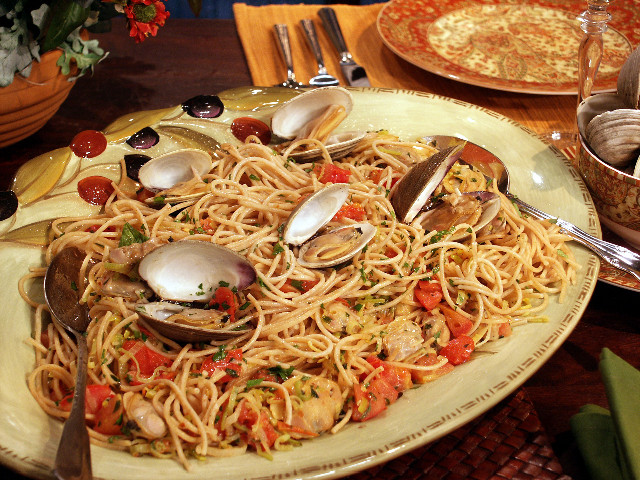 Italian Christmas Dinner  Meatless pasta dishes at Christmas are an Italian