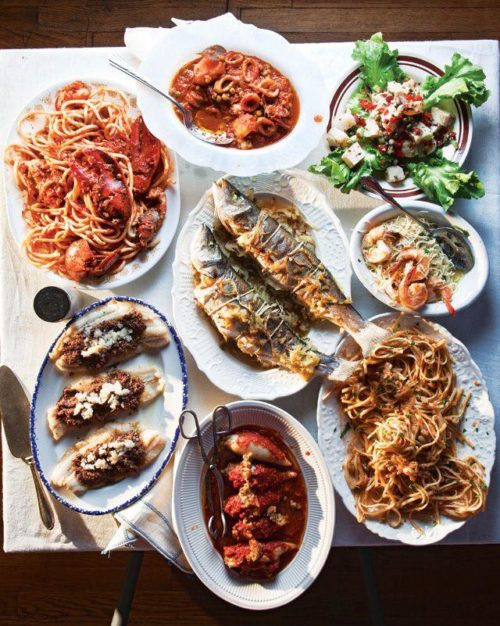 Italian Christmas Dinner  Where to Enjoy a Feast of the Seven Fishes Dinner on