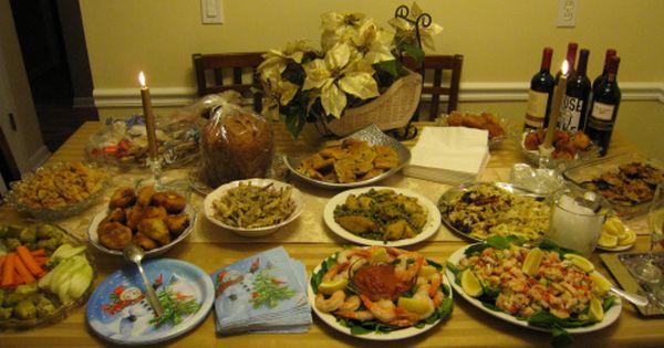 Italian Christmas Eve Dinner  Traditional Italian Christmas eve dinner