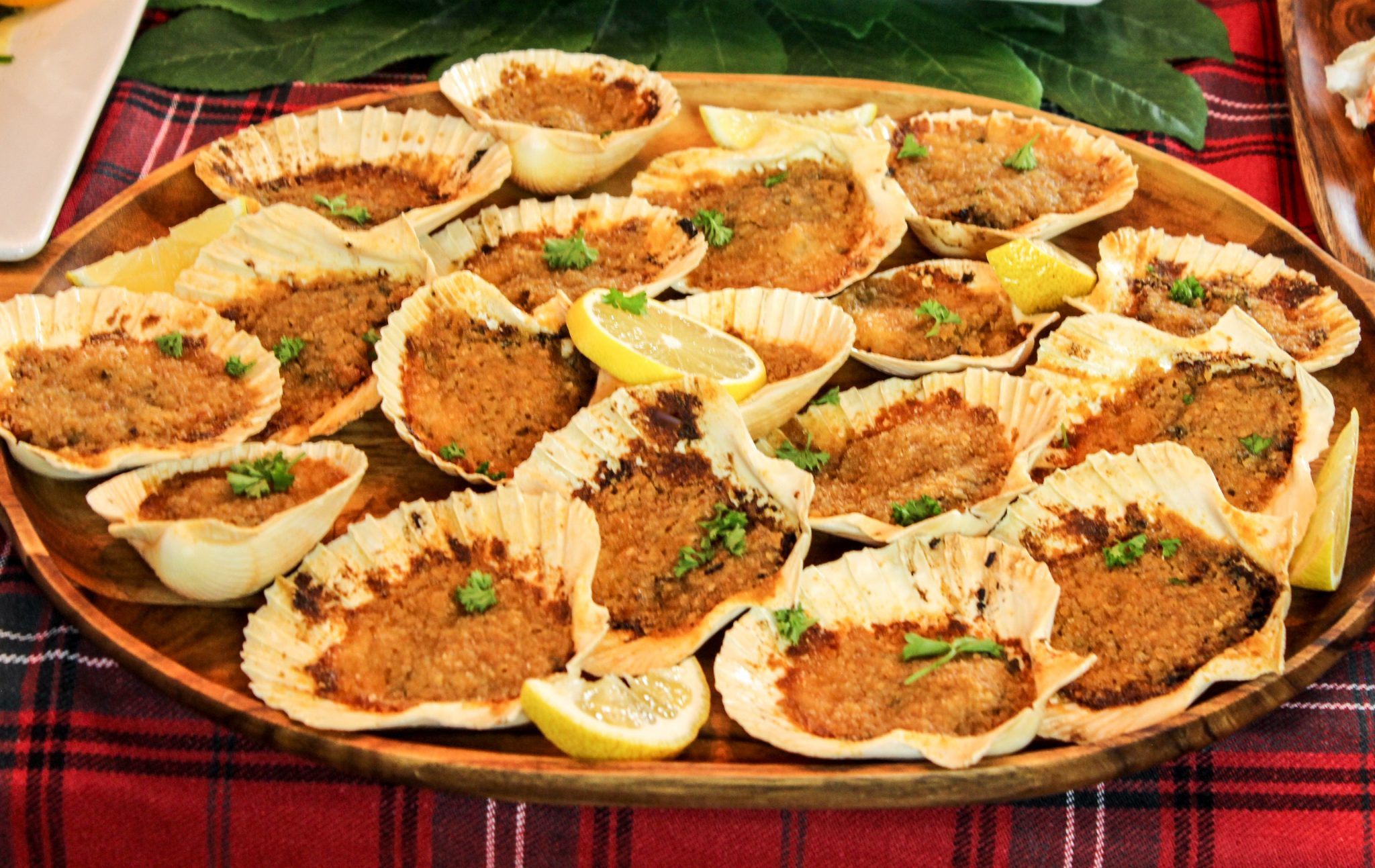 Italian Christmas Eve Dinner  Feast of the Seven Fishes Baked Clams Italian Style Day