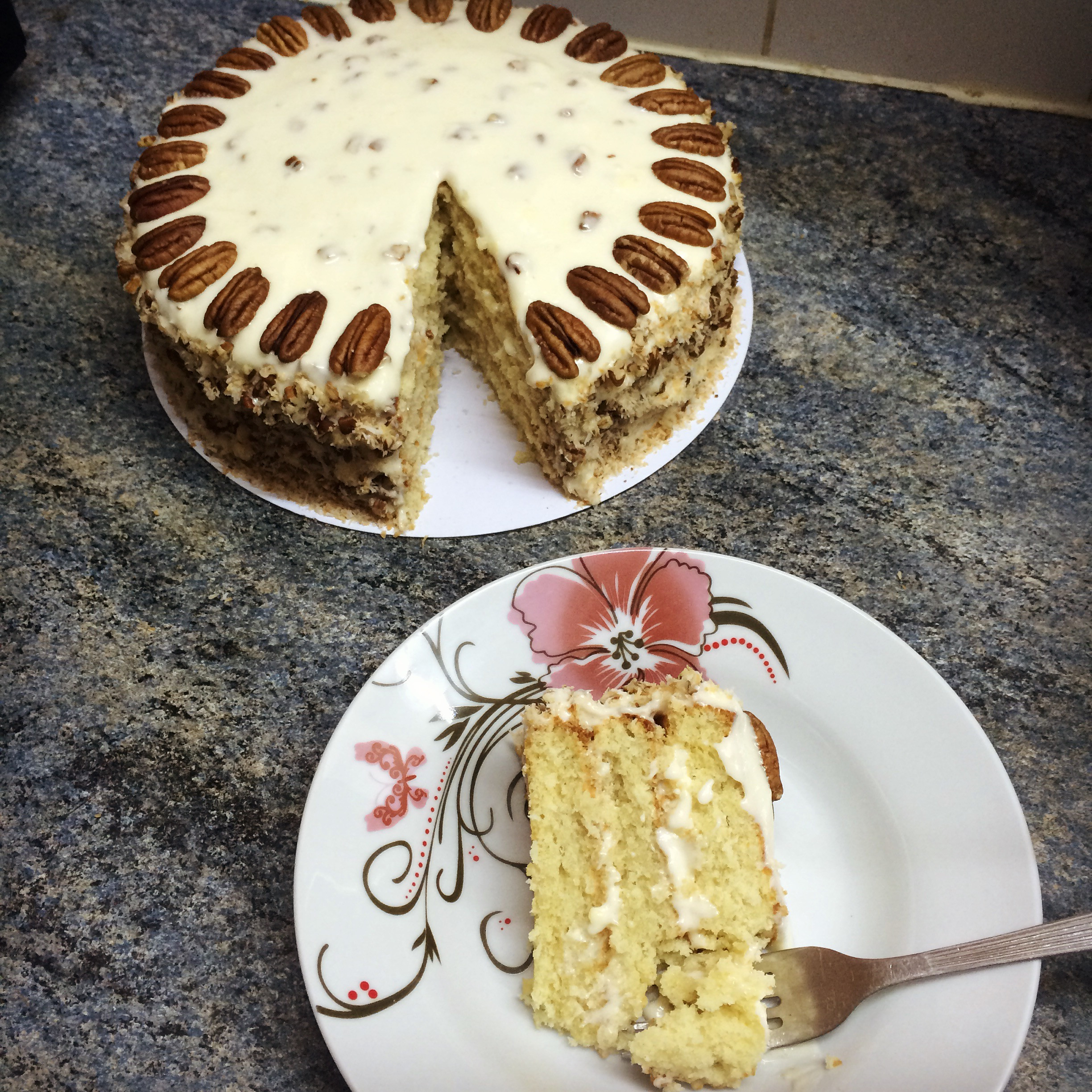 Italian Cream Cheese Cake  Italian Cream Cake – Kay s Kitchen