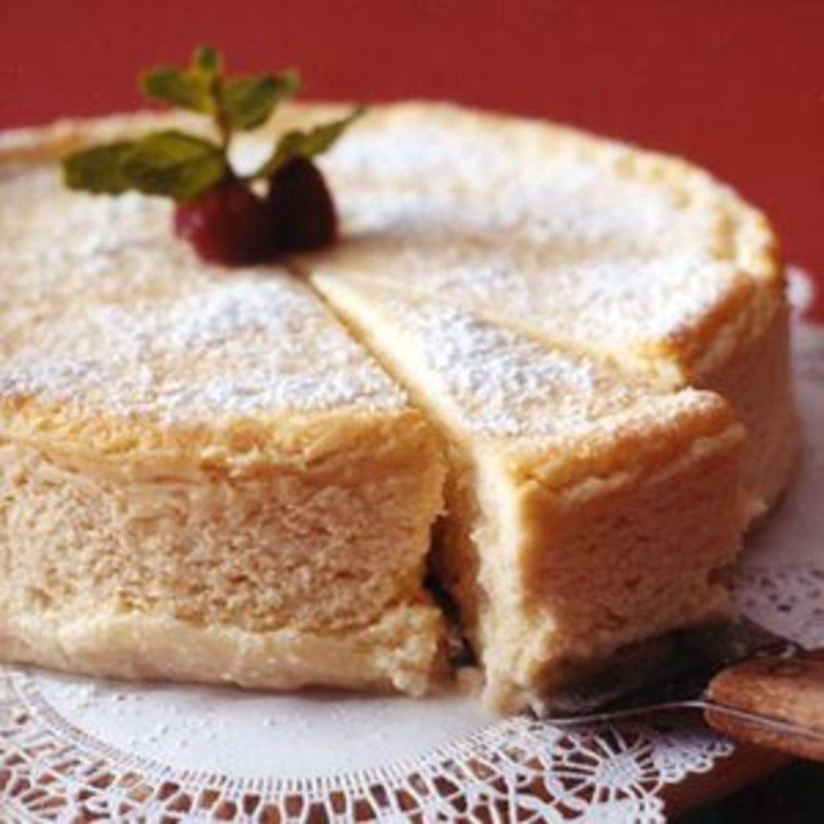 Italian Desserts Recipes  Italian Cheesecake Rachael Ray Every Day