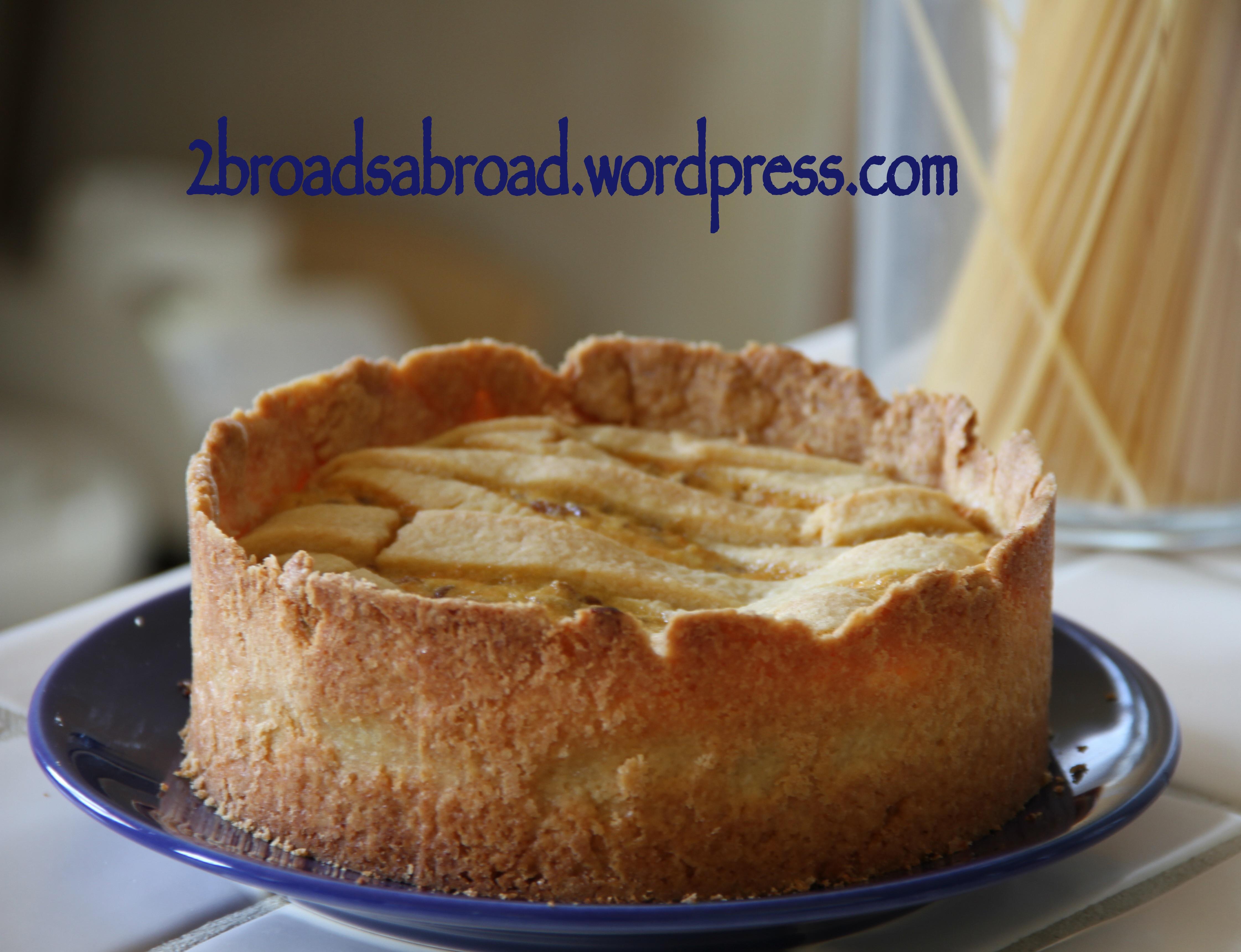 Italian Easter Desserts  traditional italian easter pie