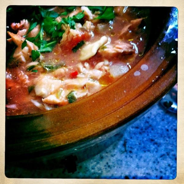 Italian Fish Stew  Slow Cooker Recipe Italian Fish Stew Miss Thrifty