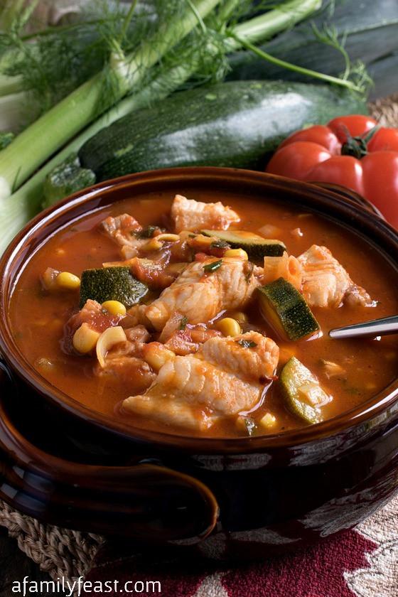 Italian Fish Stew  Italian Fish Stew A Family Feast