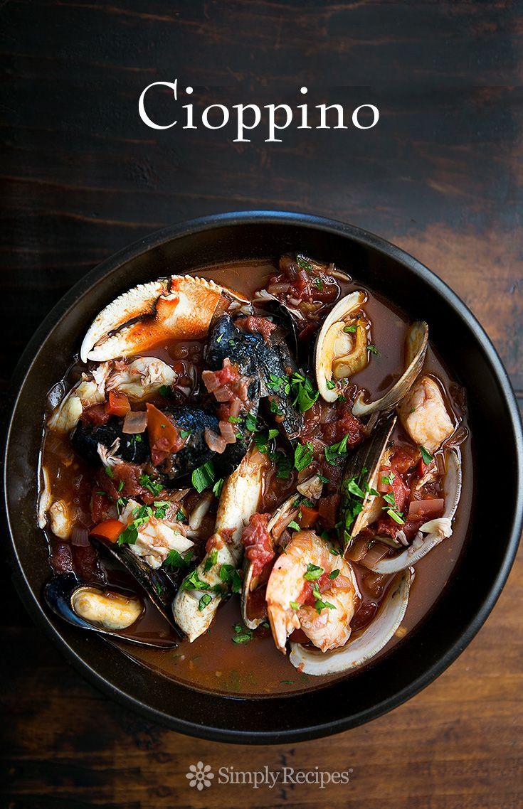 Italian Fish Stew  Cioppino San Francisco style cioppino Italian fish stew