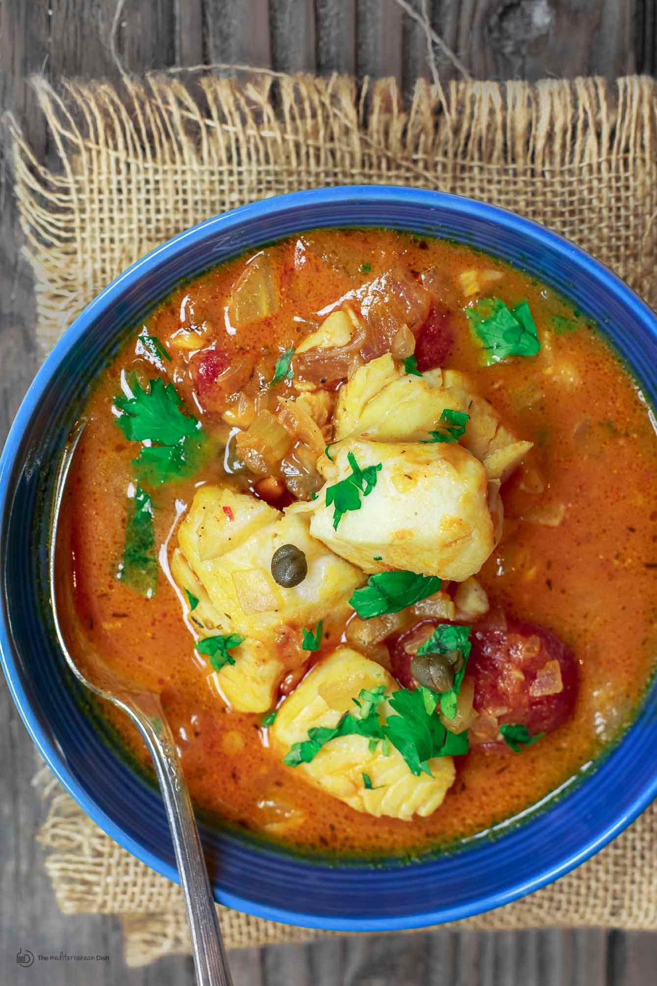 Italian Fish Stew  Sicilian Style Fish Stew Recipe