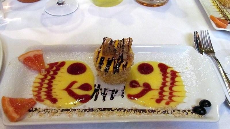 Italian Ice Cream Dessert  A Veneto Wine Lunch in Brunello Country