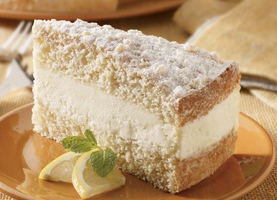 Italian Lemon Cream Cake  italian cream cake filling