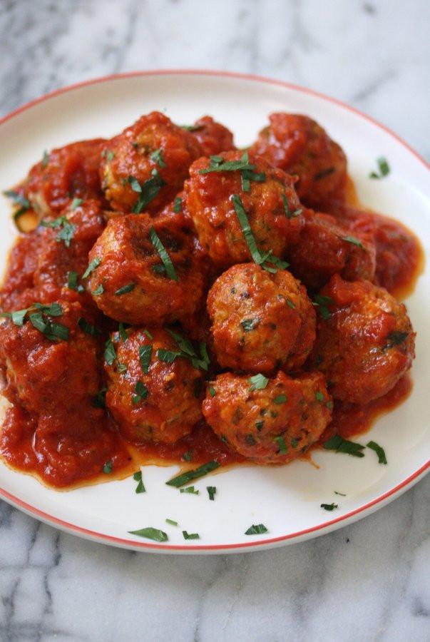 Italian Meatball Recipes  easy italian meatball recipe