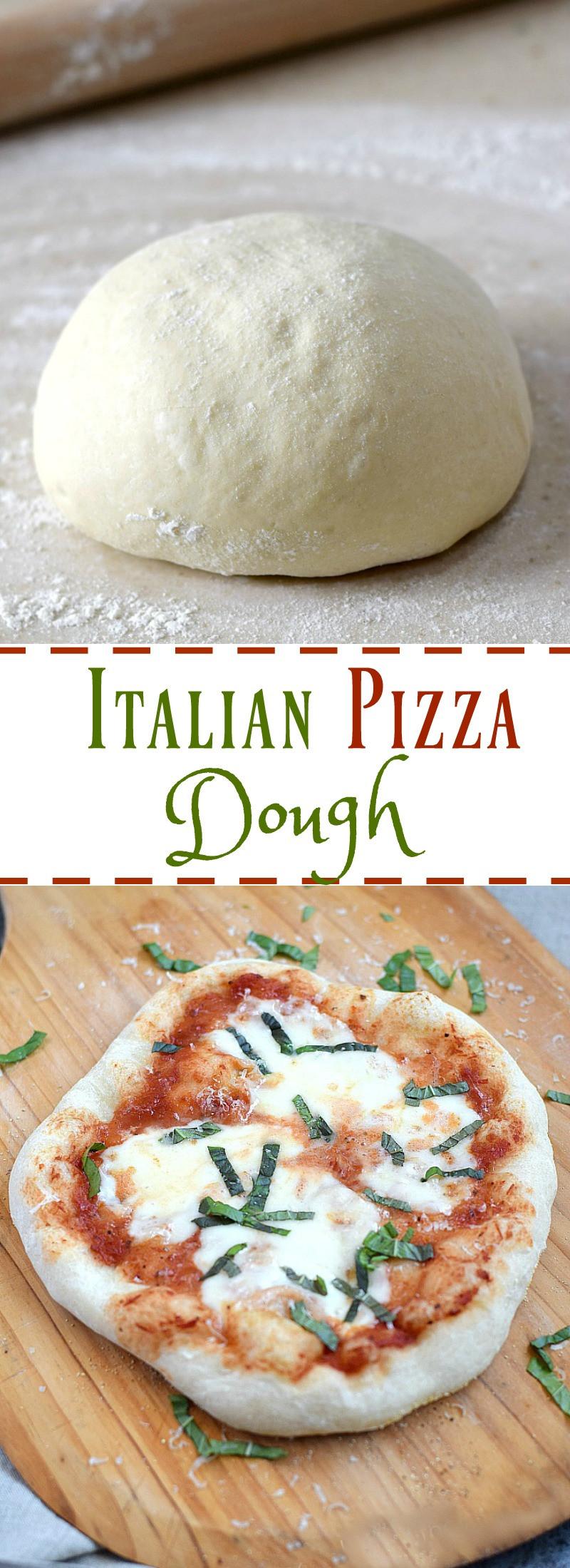 Italian Pizza Dough Recipe  Italian Pizza Dough Cooking With Curls