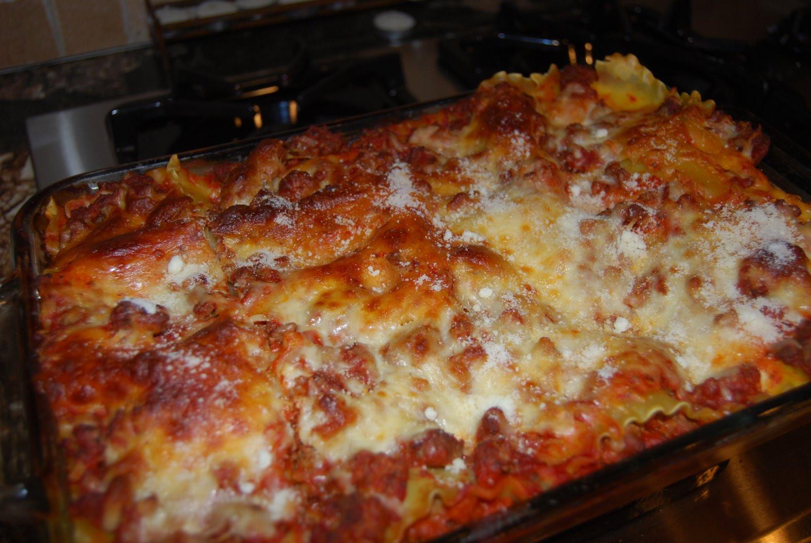 Italian Sausage Lasagna  Tasty Tidbits Thursdays Best Italian Sausage Lasagna and