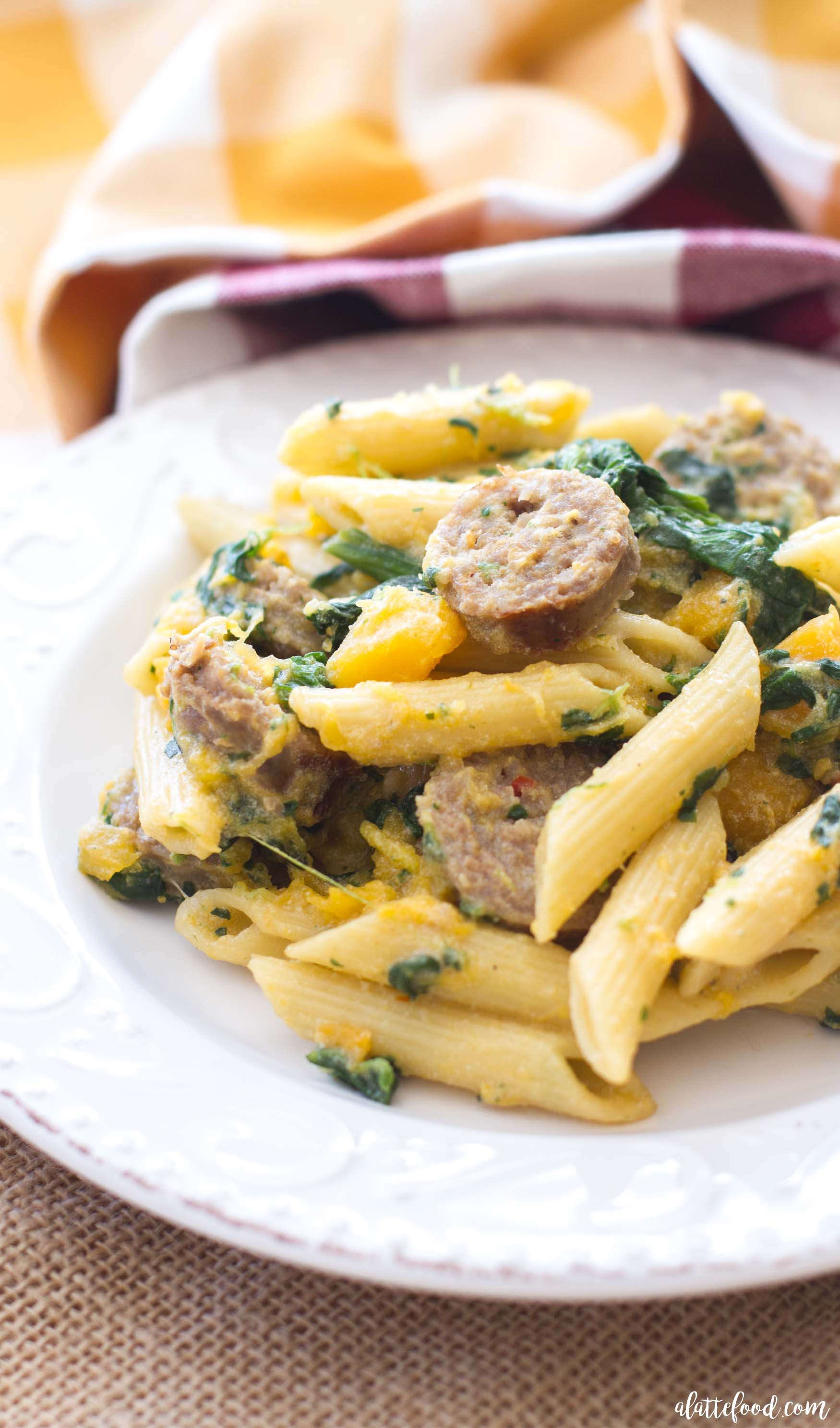 Italian Sausage Pasta Recipes  italian sausage penne pasta recipe