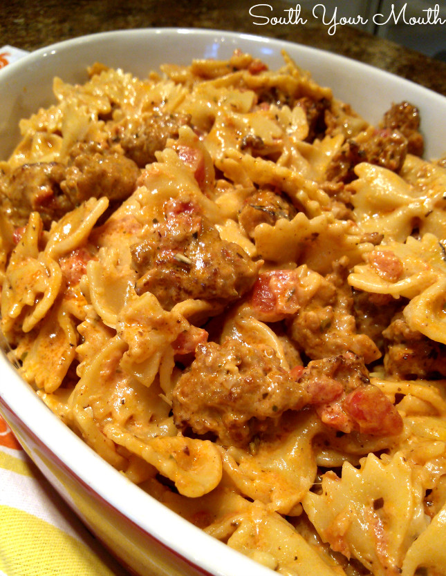 Italian Sausage Pasta Recipes  South Your Mouth Italian Sausage and Pasta with Tomato