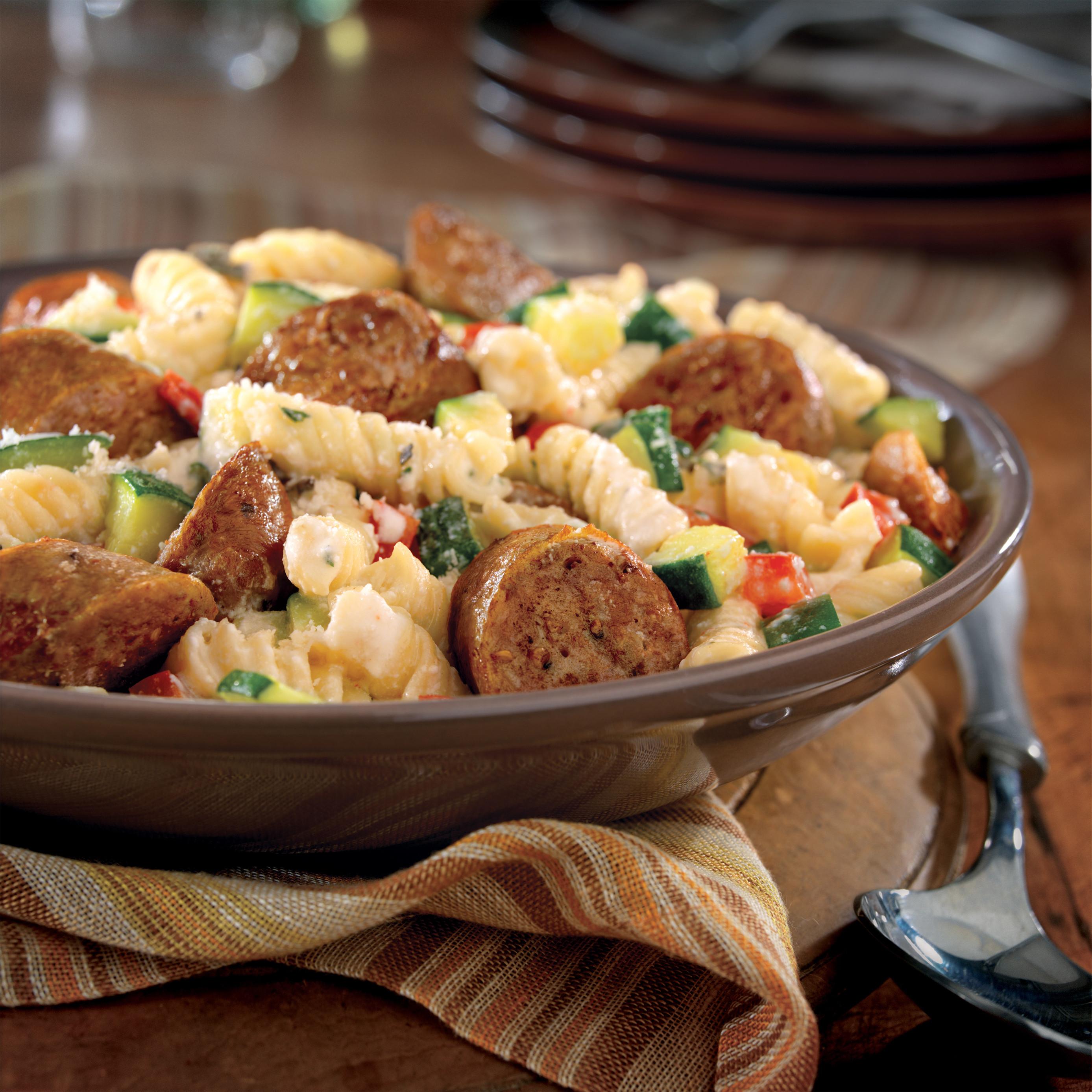 Italian Sausage Recipes  Italian Sausage with Pasta and Herbs Pork Recipes Pork