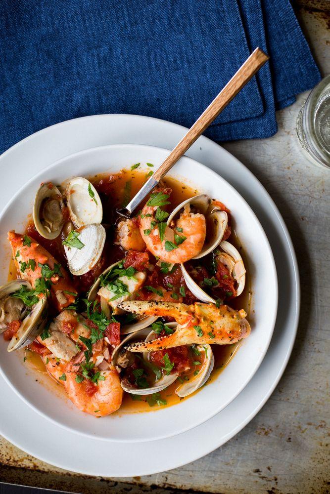 Italian Seafood Recipes  Cioppino is an Italian American seafood stew first