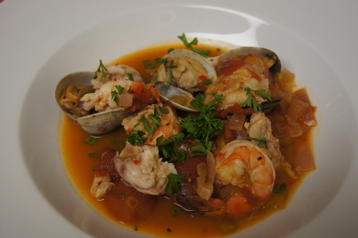 Italian Seafood Recipes  Italian Seafood Stew Recipe — Dishmaps