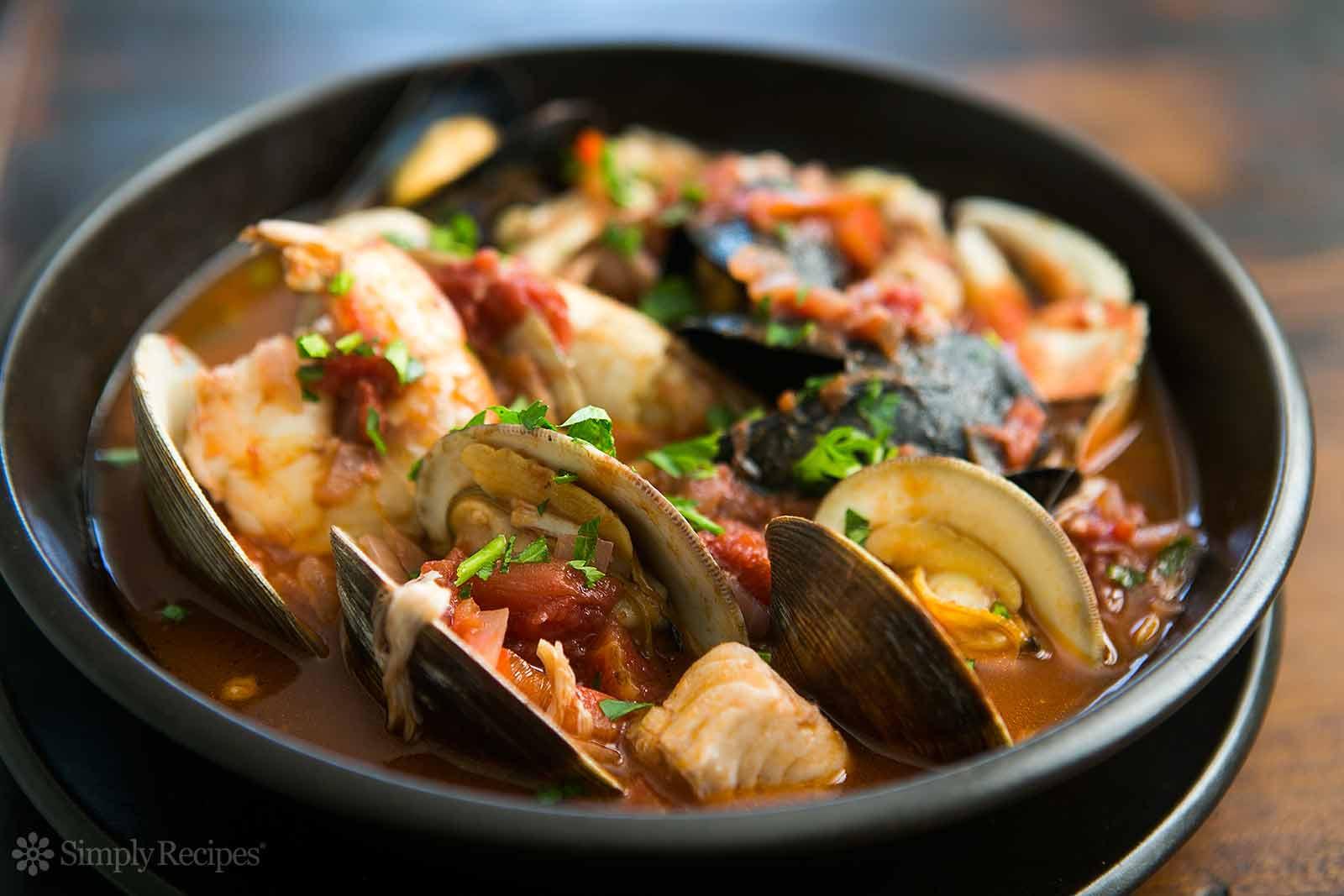 Italian Seafood Recipes  Cioppino Recipe
