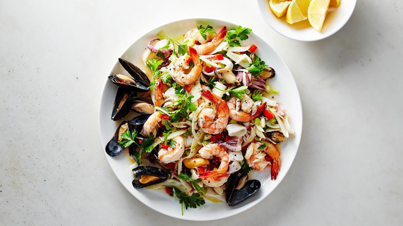 Italian Seafood Recipes  Italian Seafood Salad